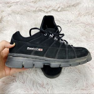 Women's Reebok fashion walk tennis shoes black 9